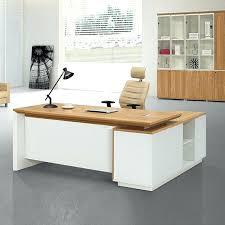Swivel Computer Desk High End Desk Simple Style Melamine High End Office Furniture
