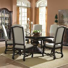dining room table with leaves circle dining table with leaf cheap heartlands round black glass