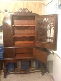 1920 S China Cabinet by China Cabinet Worth My Antique Furniture Collection