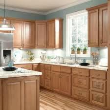 White Kitchen Cabinets White Appliances Oak Kitchen Cabinets With White Appliances And Granite Countertops