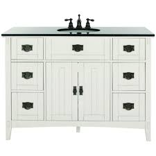 home decorators colleciton home decorators collection artisan 48 in w bath vanity in white