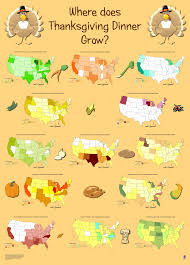 top 14 maps and charts that explain thanksgiving geoawesomeness