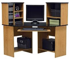 furniture solid wood corner computer desk design corner