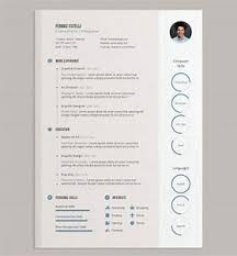 cool free resume templates creative resume template free 100 images 21 stunning