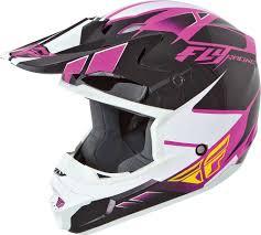 purple motocross helmet 2015 fly racing kinetic impulse motocross dirtbike mx atv dot