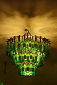 Glass Bottle Chandelier Gorgeous Beer Bottle Chandelier Picture Of The Factory French