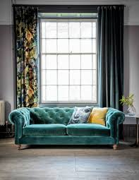chesterfield sofa velvet chesterfield sofa by grey