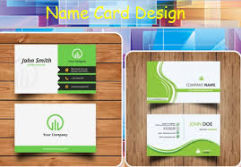 name card design android apps on play