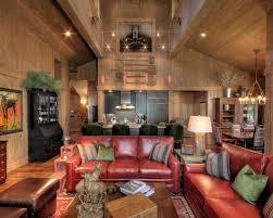 Black Leather Sofa Ideas Houzz - Family room leather furniture