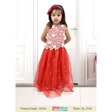 gown dress with price glamorous designer baby gown with net corset in india