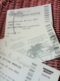 wedding invitations malta boarding pass invitation by sweet words stationery