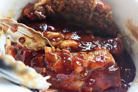fall off the bone slow cooker glazed ribs the pioneer woman