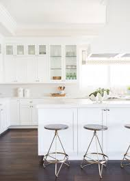 glass cabinets in white kitchen how to style glass cabinets studio mcgee