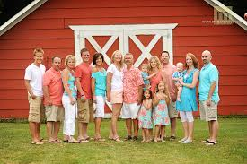 gallery for large family picture ideas what to wear family