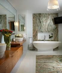 beach style tub bathroom shabby chic style with floor tiles like