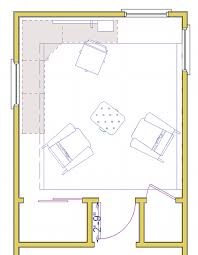 Home Office Floor Plan Privacy For A Home Office With Arched Doorway U2013 Braitman Design Studio