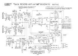 fender amp schematics