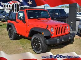 big red jeep jeep wrangler in greenville sc big o dodge chrysler jeep ram