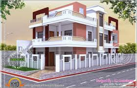 Indian House Floor Plan by Excellent House Plan With Luxury Indian Home Exterior Design