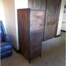 Rustic File Cabinet Rustic File Cabinets Home Office Furniture The Home Depot