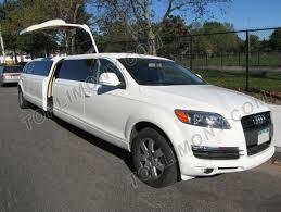 Audi Q7 Limo - toplimo new york coach builders exotic limousine conversion