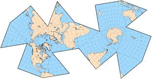 what is a map projection map projections polyhedral maps part 3