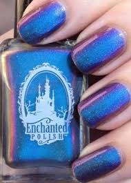 enchanted polish paint it black swatches and review the
