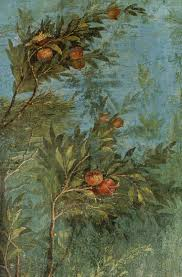2280 best ancient art and jewelry images on pinterest ancient garden frescoes painted on the walls of the villa di livia rome