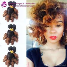 Two Tone Ombre Hair Extensions by Cheap Two Tone Spring Curl Funmi Human Hair Extensions Aunty Funmi