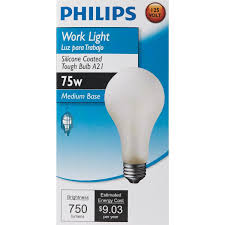 rough service light bulbs philips silicone coated a21 incandescent rough service light bulb