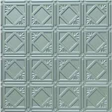 Metal Ceiling Tiles by Tin Style Ceiling Tiles Ceilings The Home Depot