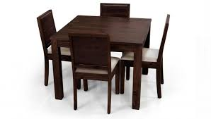 Chair Small Dining Room Table And Chairs With Hidden Casual Wooden - Dining table with hidden chairs