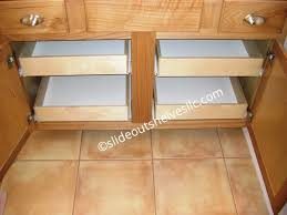 Cabinet Pull Out Shelves by How To Install Pull Out Shelves