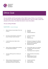 cima ethics resources