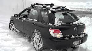 subaru snow subaru snow tires and a slick driveway youtube