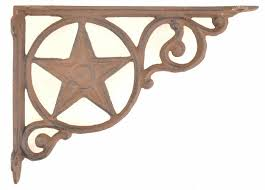 Wooden Shelf Bracket Patterns by Cast Iron Shelf Brackets Shelf Braces Star Brackets