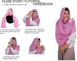 tutorial jilbab jilbab tutorial hijab syariah mudah dipraktekan islamic notes pinterest