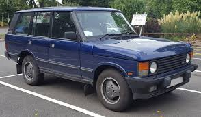 blue range rover vogue file 1995 land rover range rover vogue tdi 2 5 front jpg