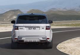 range rover rear 2018 range rover sport announced p400e hybrid confirmed for