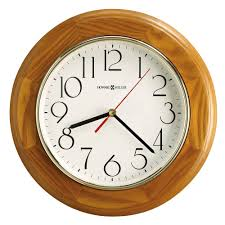 oak wall clocks name brands clockshops com
