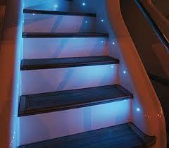 automatic led stairs controller 4 steps