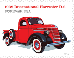 Classic Chevrolet Trucks By Year - u s postal service unveils truck stamp designs overdrive