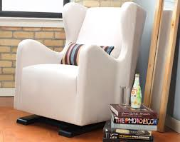 Grey Glider Chair Furniture Using Comfy Walmart Glider For Charming Home Furniture