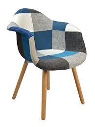 fauteuil cuisine ts ideen design classique patchwork fauteuil rétro ées 50