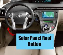toyota prius moonroof how to use the toyota prius solar panel roof