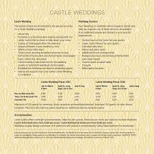 Wedding Packages Prices Weddings At Leeds Castle In Kent
