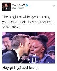 Zach Braff Meme - zach braff azachbraff the height at which you re using your selfie