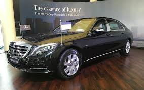 mercedes s600 maybach price mercedes maybach s600 guard safest car on earth priced at rs