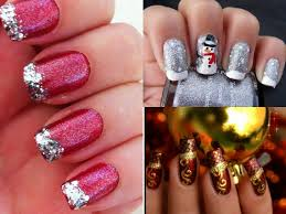 christmas nails ideas beautify themselves with sweet nails