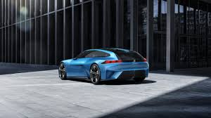 peugeot concept car peugeot instinct concept car the shooting brake by peugeot
